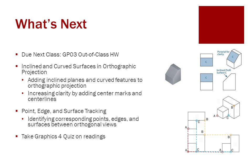 What's Next Due Next Class: GP03 Out-of-Class HW