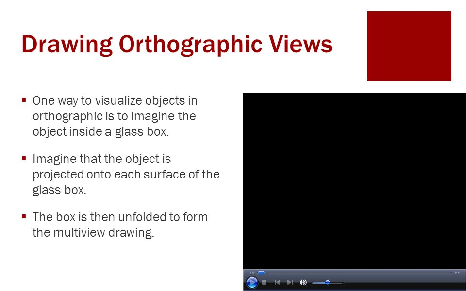 Drawing Orthographic Views