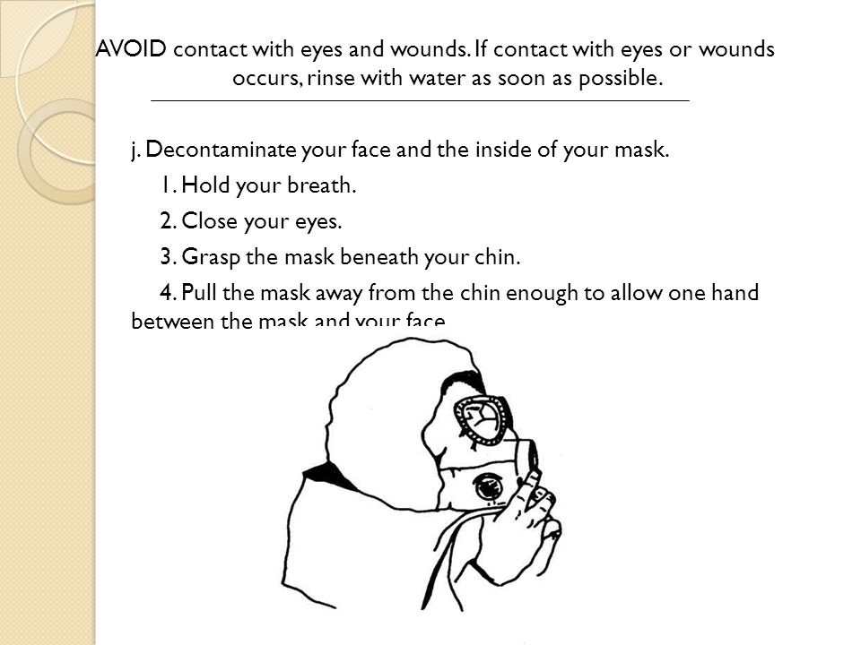 AVOID contact with eyes and wounds