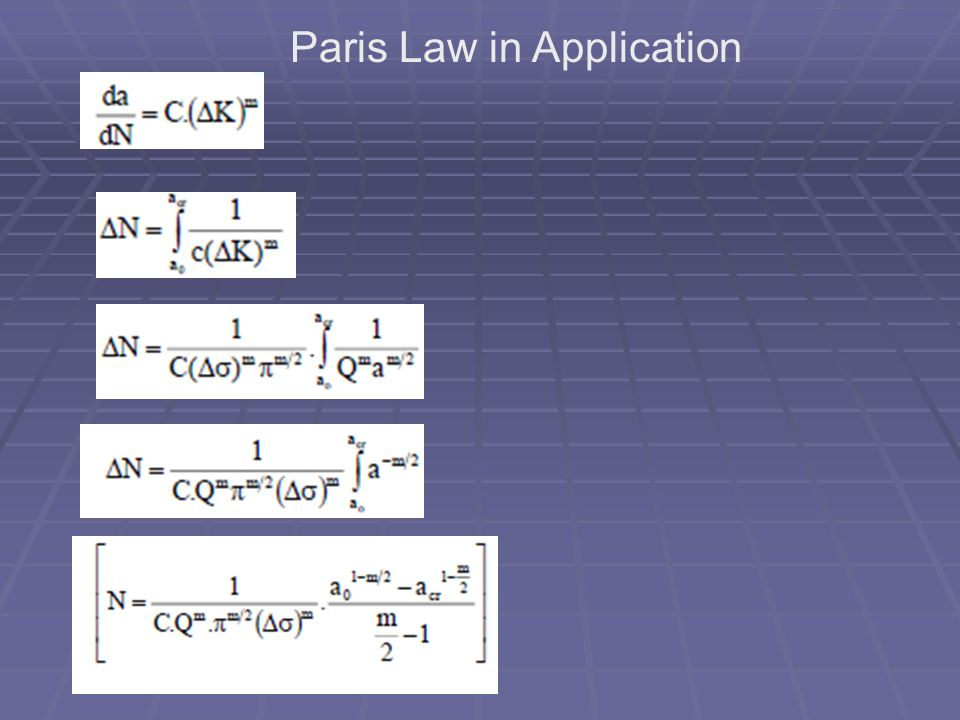 Paris Law in Application