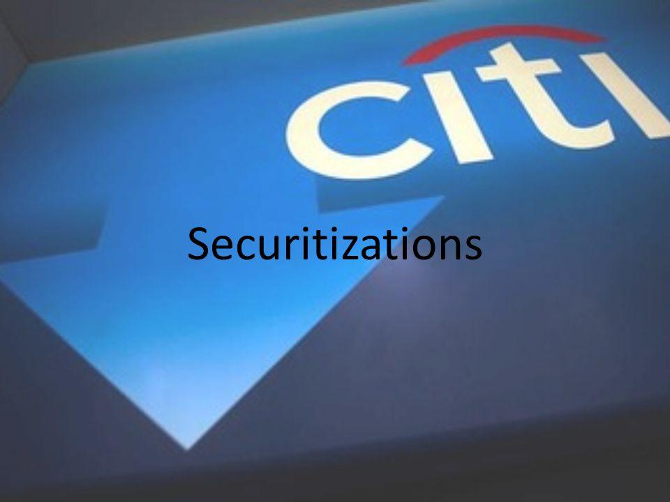 Securitizations