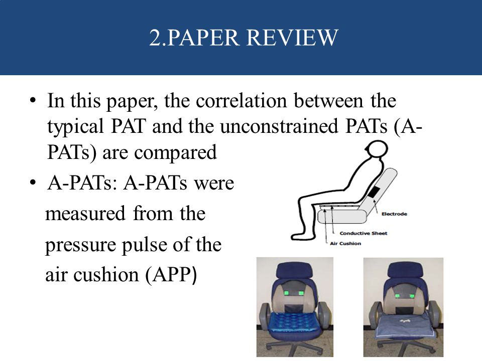 2.PAPER REVIEW In this paper, the correlation between the typical PAT and the unconstrained PATs (A-PATs) are compared.