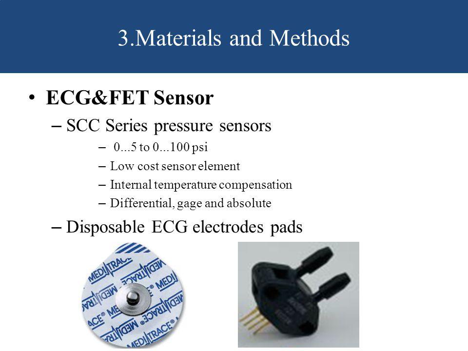 3.Materials and Methods ECG&FET Sensor SCC Series pressure sensors