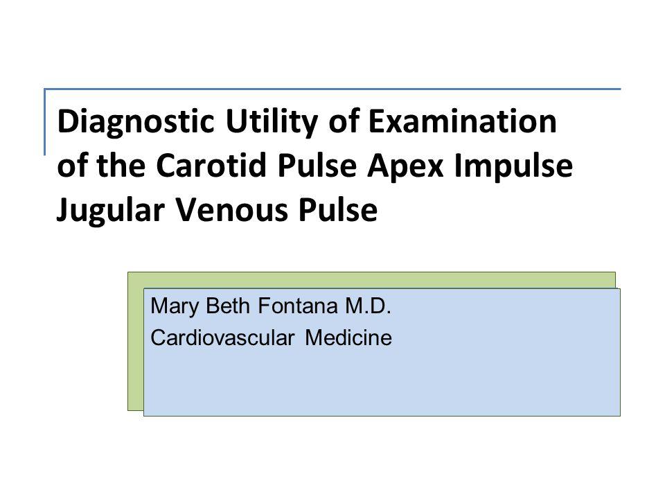 Mary Beth Fontana M.D. Cardiovascular Medicine