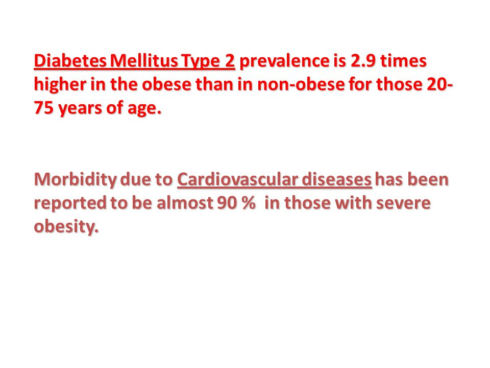Diabetes Mellitus Type 2 prevalence is 2