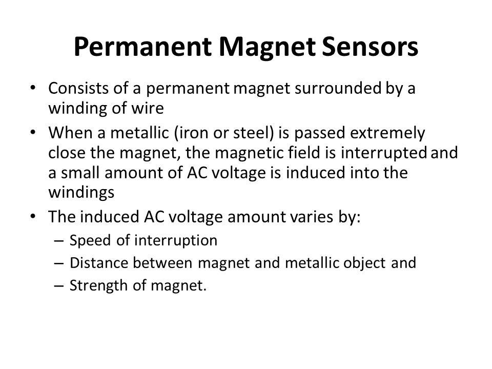 Permanent Magnet Sensors
