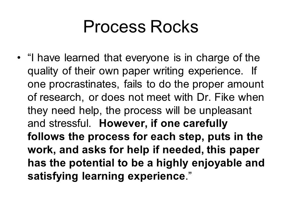 Process Rocks