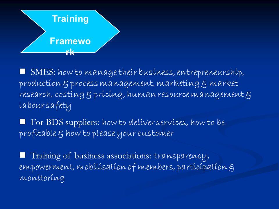 Training Framework.