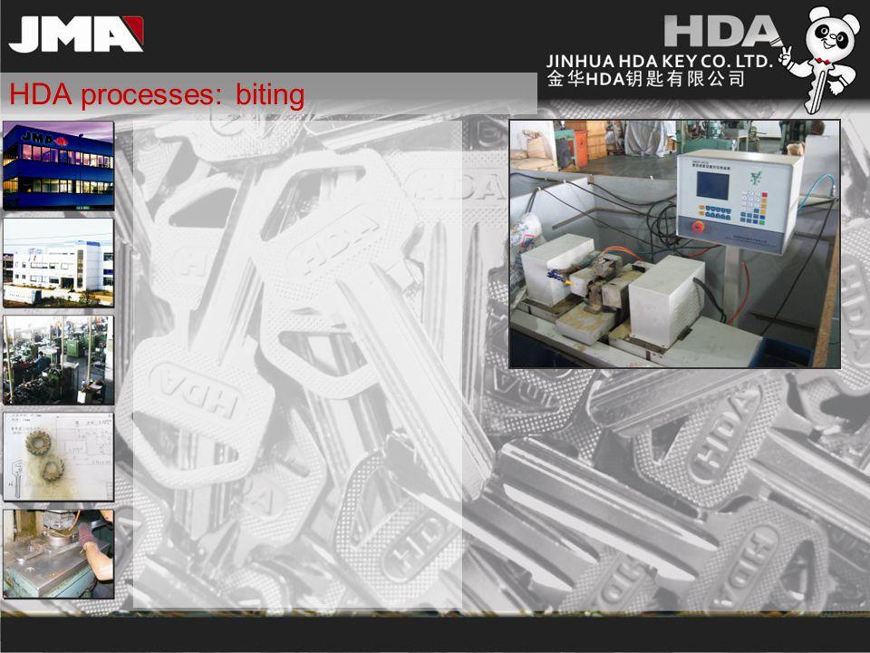 HDA processes: biting