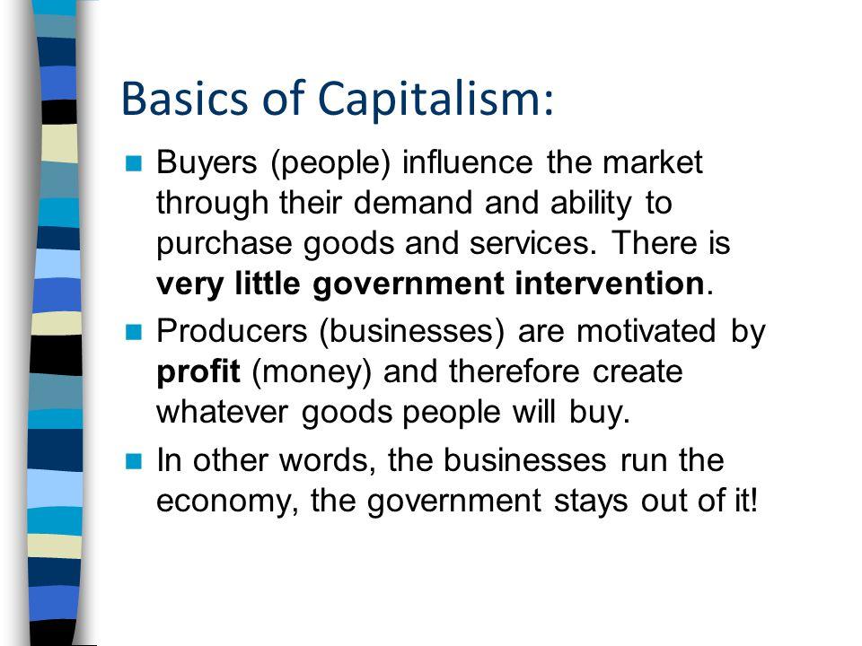 Basics of Capitalism: