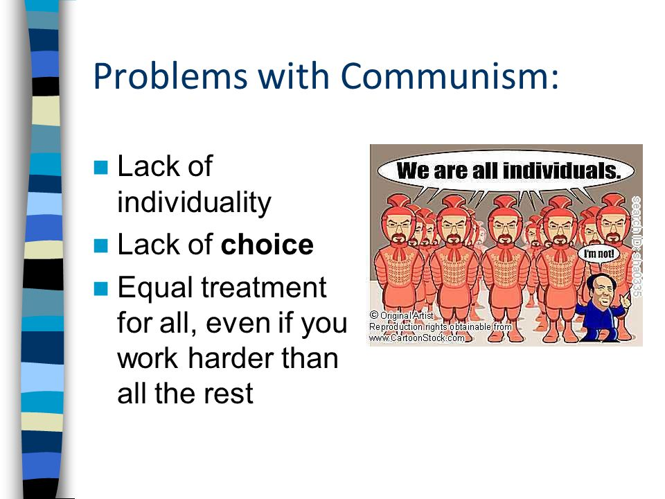 Problems with Communism: