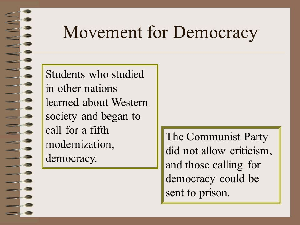 Movement for Democracy