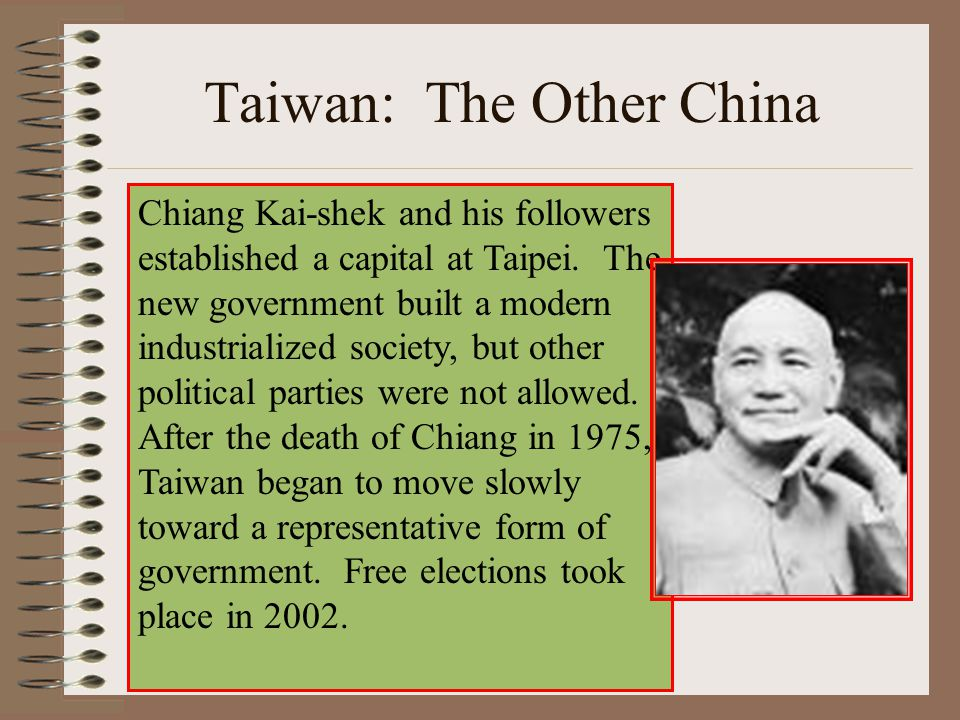 Taiwan: The Other China