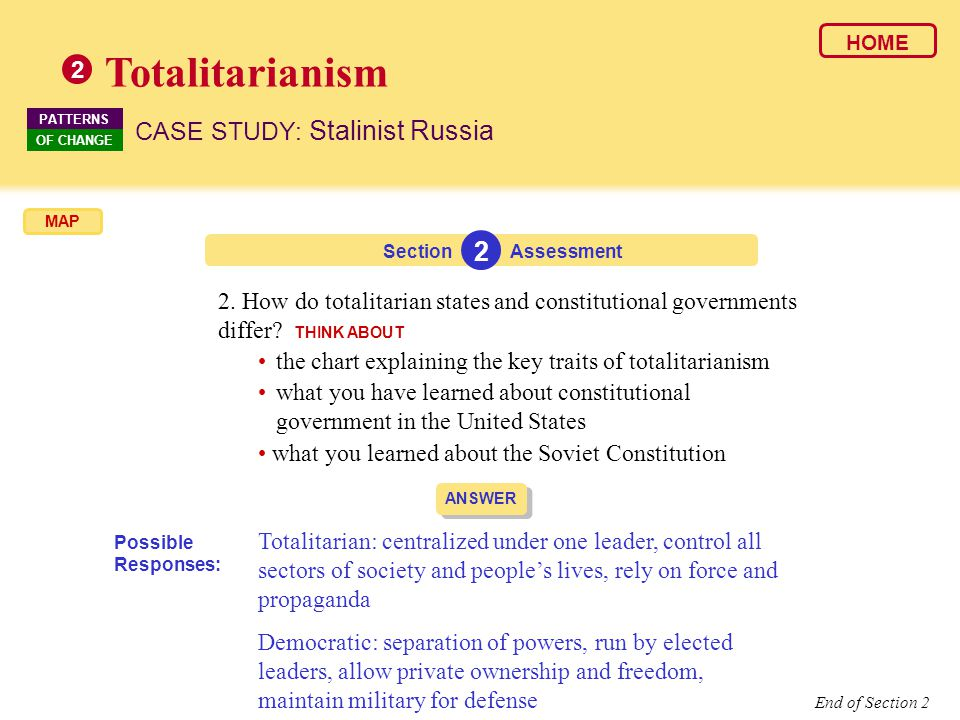Totalitarianism 2 CASE STUDY: Stalinist Russia 2