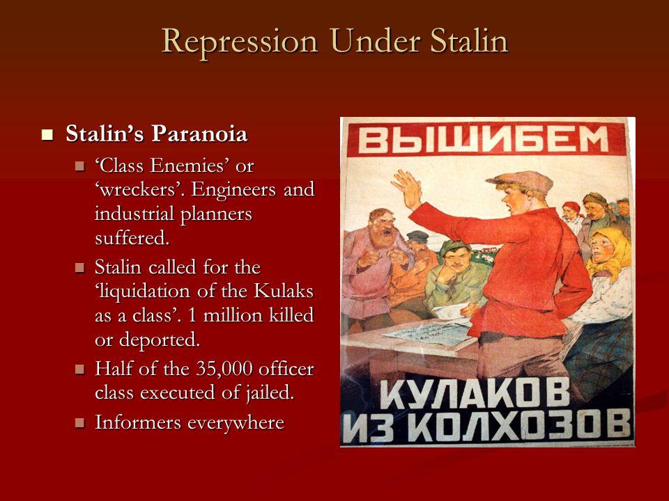 Repression Under Stalin