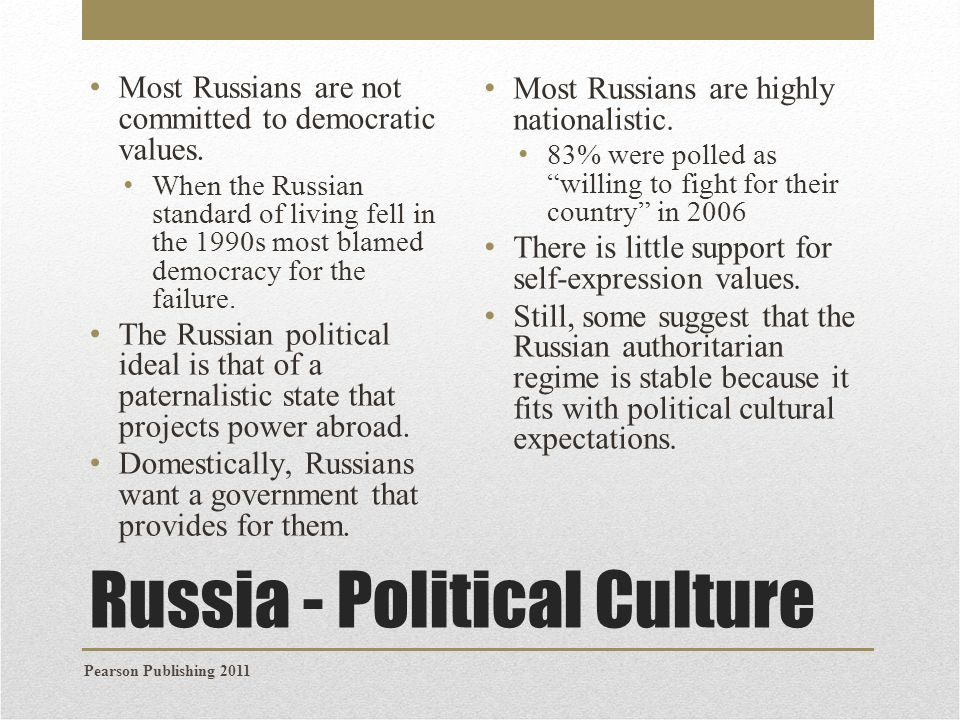 Russian Culture Society And Political 119