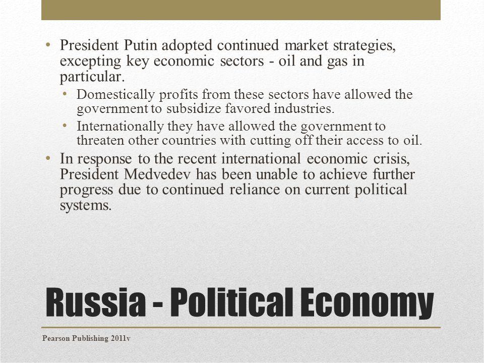 Russia - Political Economy