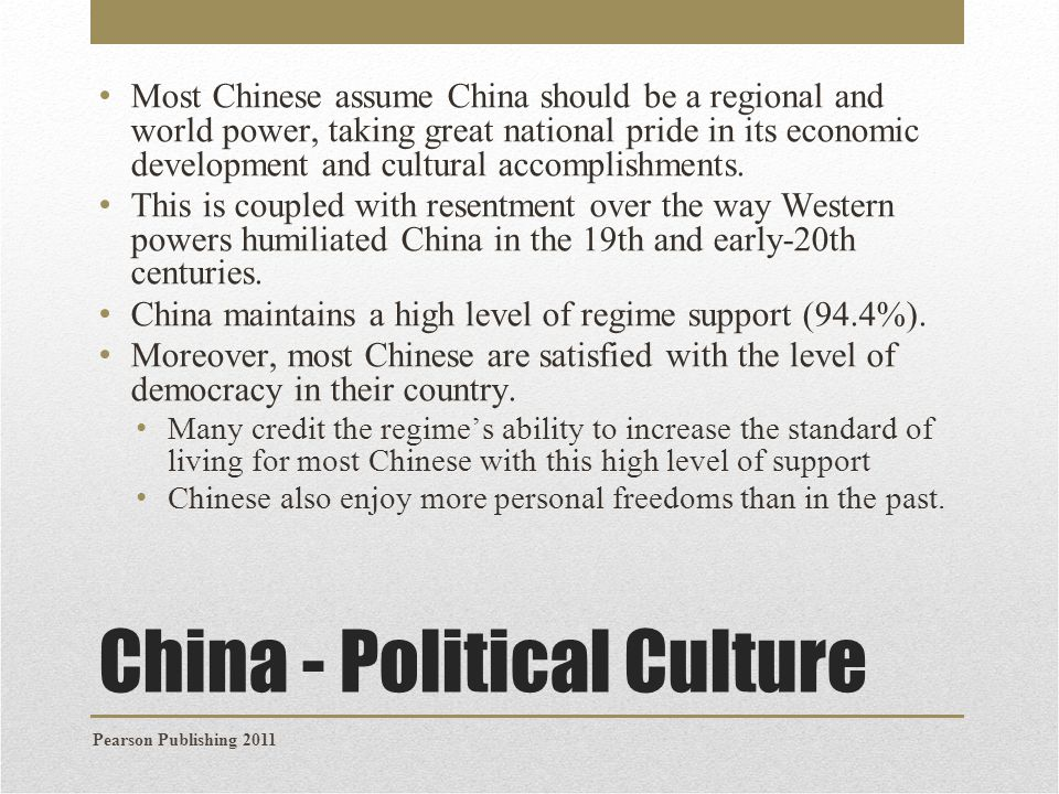 China - Political Culture