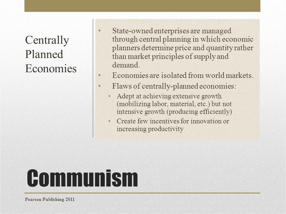 the shift from the soviet style centrally planned economy to market oriented economy in china The economy of the people's republic of china is the fourth from a soviet-style centrally planned economy to a more market-oriented economy but still.