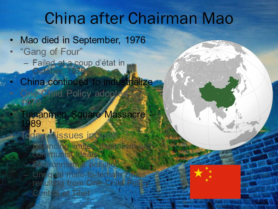 China after Chairman Mao
