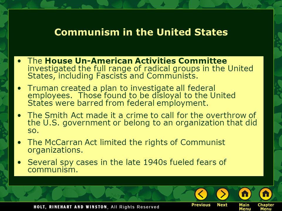 Communism in the United States