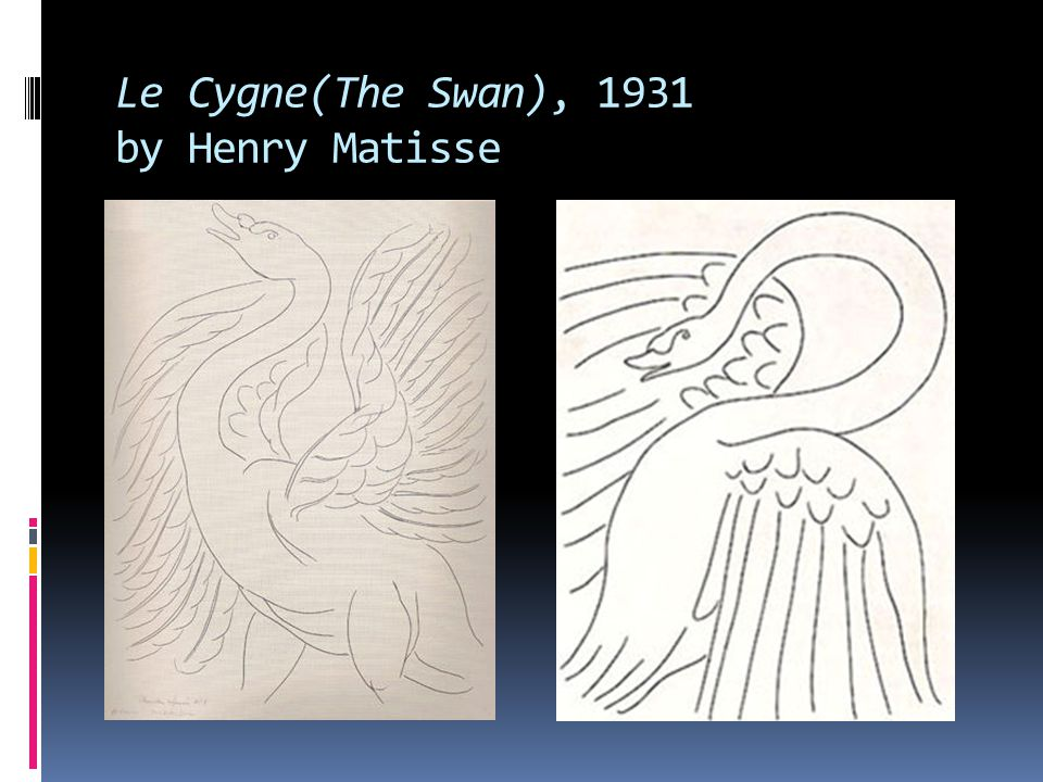 Le Cygne(The Swan), 1931 by Henry Matisse
