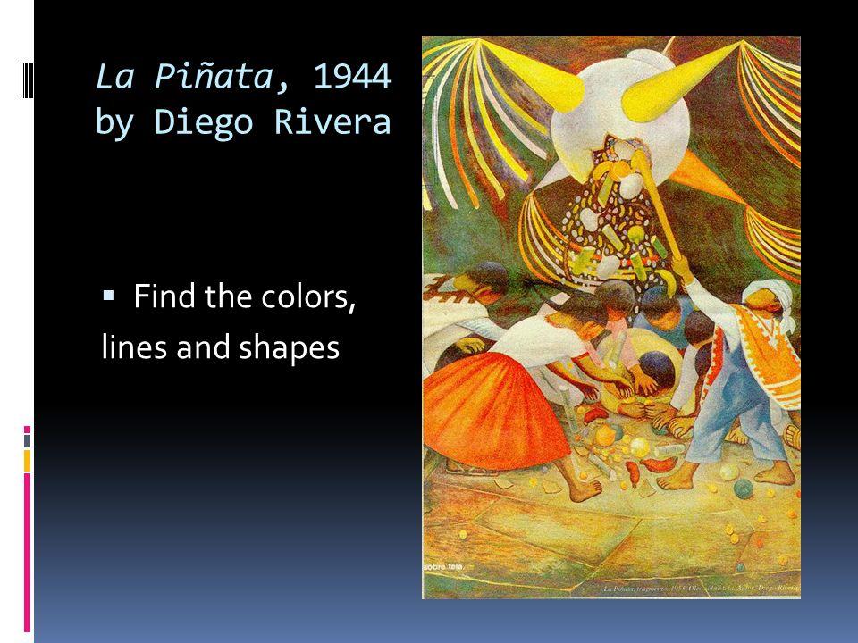 La Piñata, 1944 by Diego Rivera