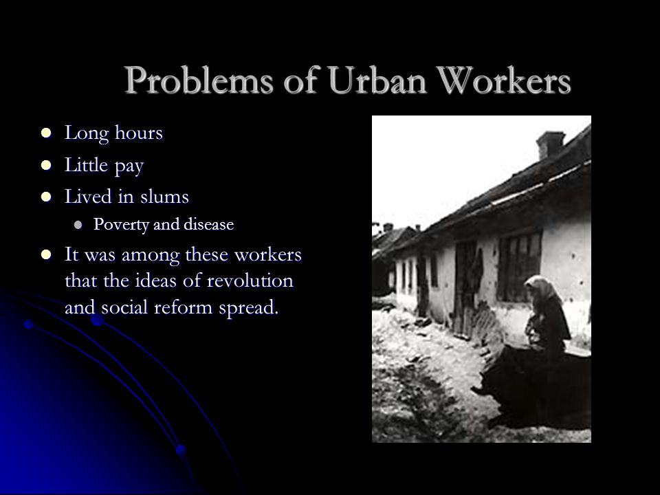 Problems of Urban Workers