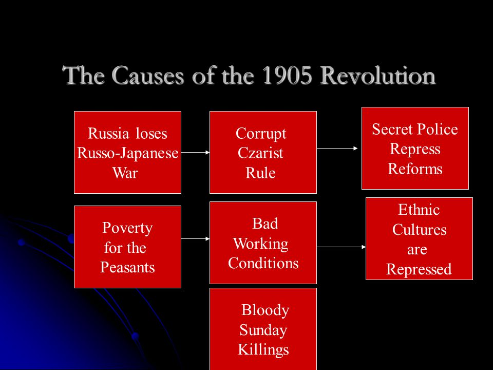 The Causes of the 1905 Revolution