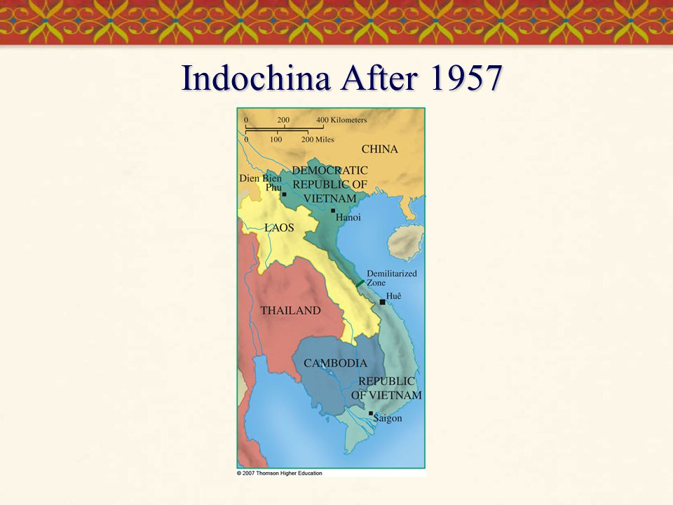 Indochina After 1957