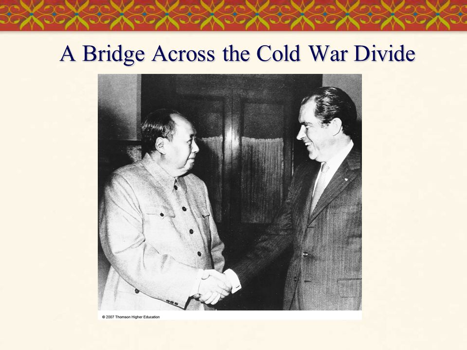 A Bridge Across the Cold War Divide