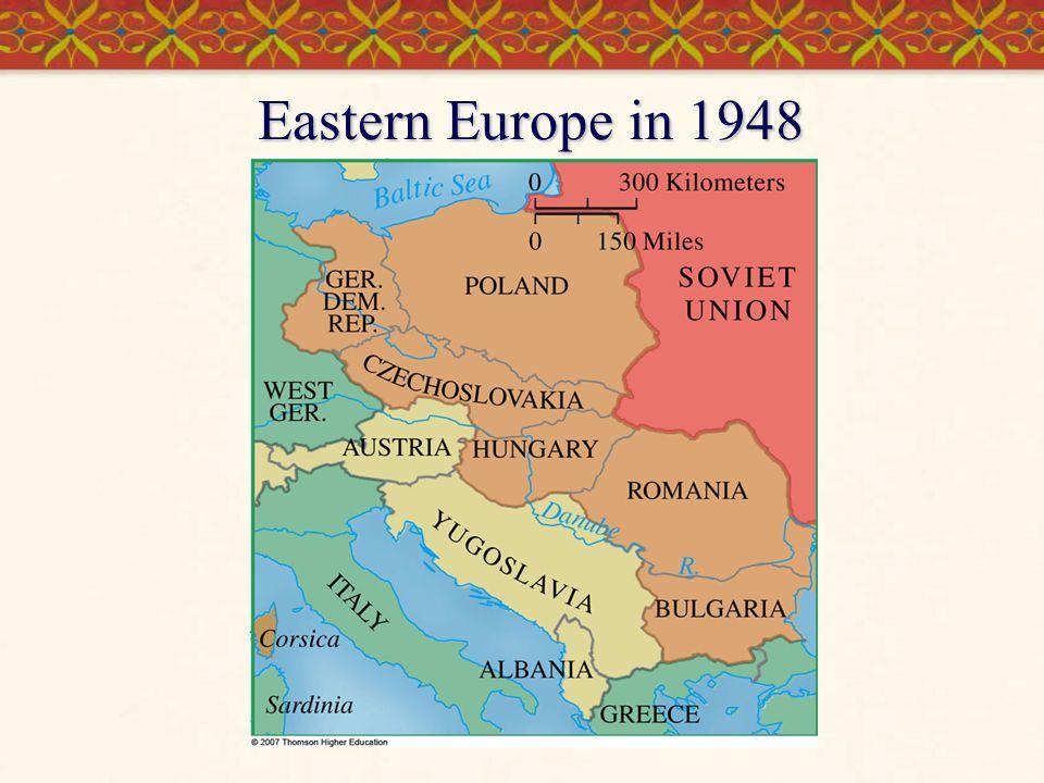 Eastern Europe in 1948