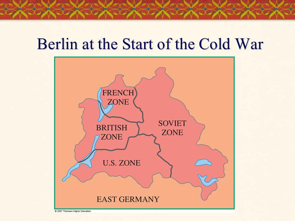 Berlin at the Start of the Cold War
