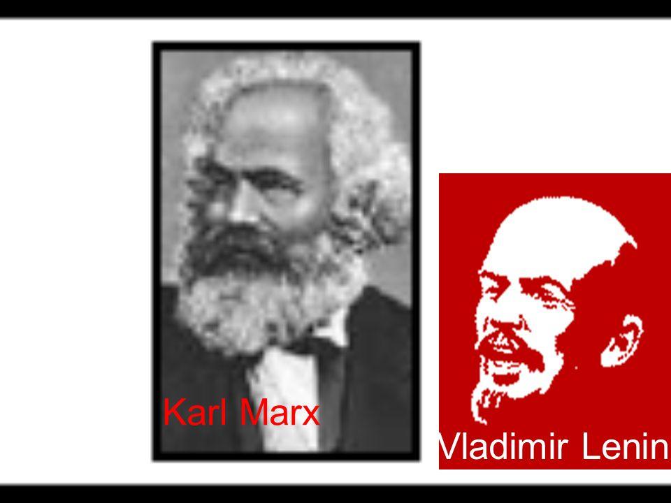 Karl Marx Vladimir Lenin