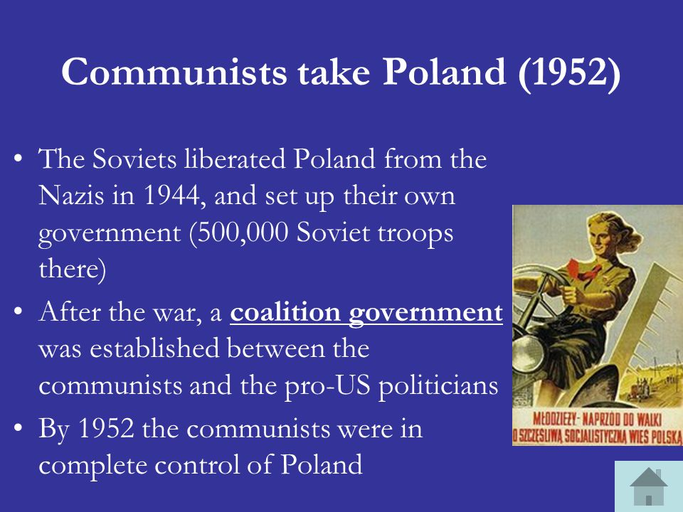 Communists take Poland (1952)