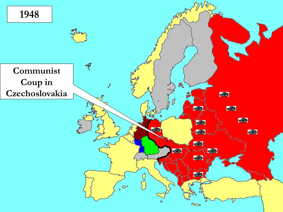 Communist Coup in Czechoslovakia