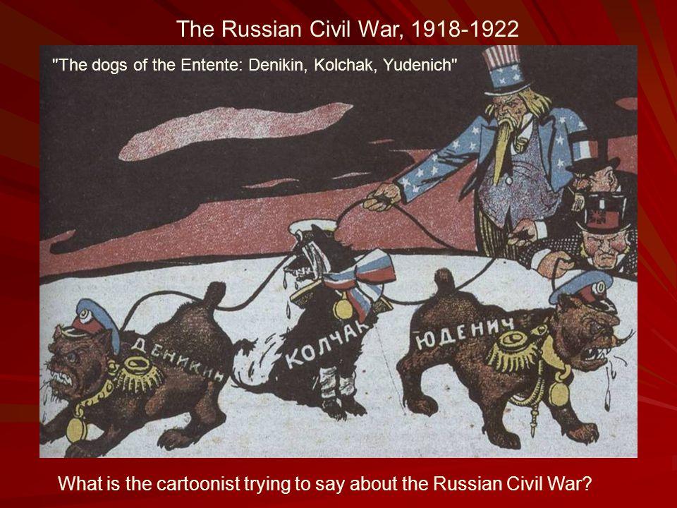 The Russian Civil War, 1918-1922 The dogs of the Entente: Denikin, Kolchak, Yudenich