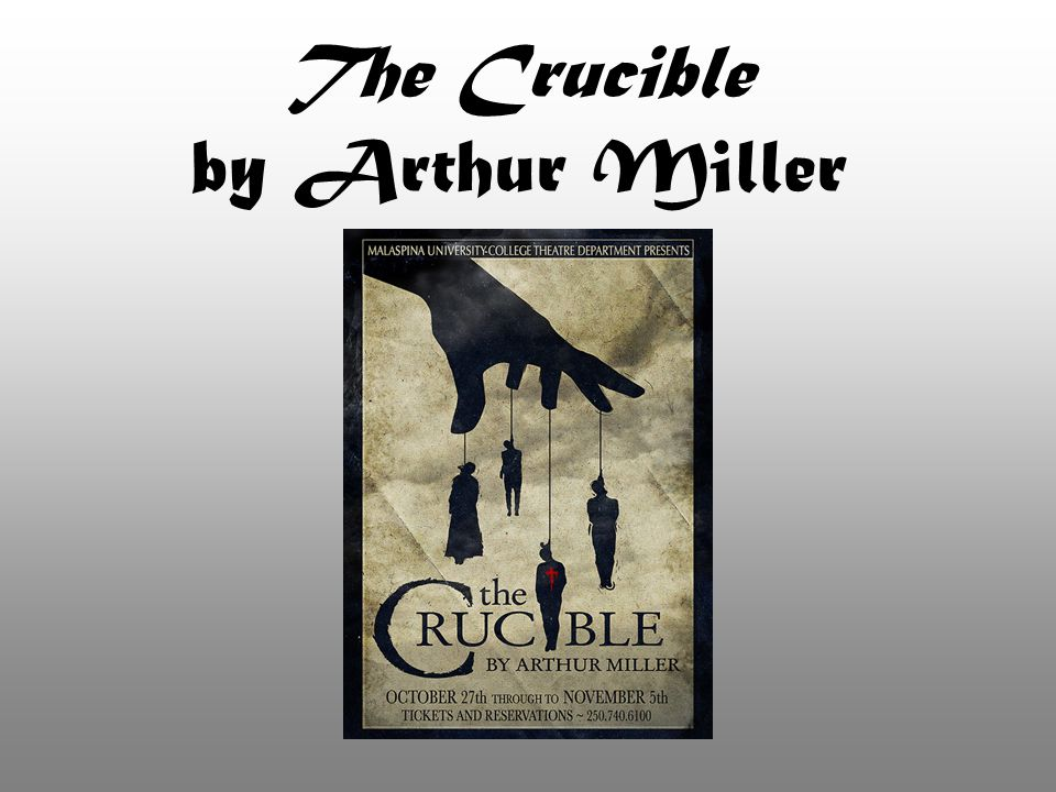 the epitome of superstition in the crucible by arthur miller Free essay on superstition in the play the crucible by arthur miller available totally free at echeatcom, the largest free essay community.