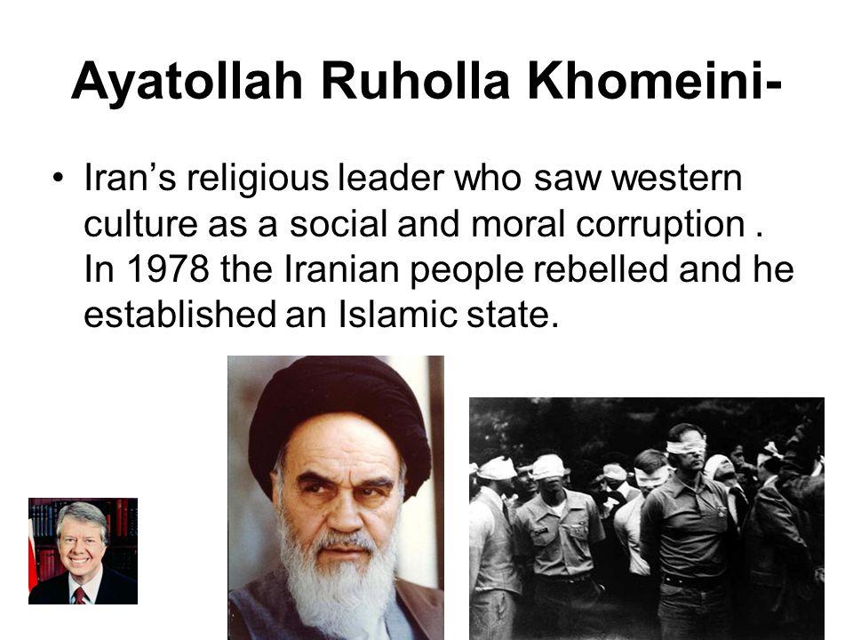 Ayatollah Ruholla Khomeini-
