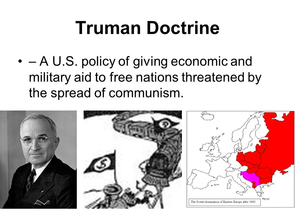 Truman Doctrine – A U.S.
