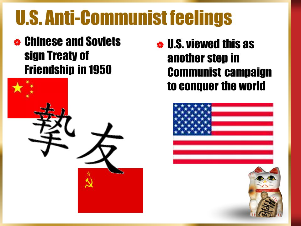 U.S. Anti-Communist feelings