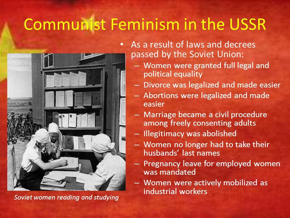 Communist Feminism in the USSR
