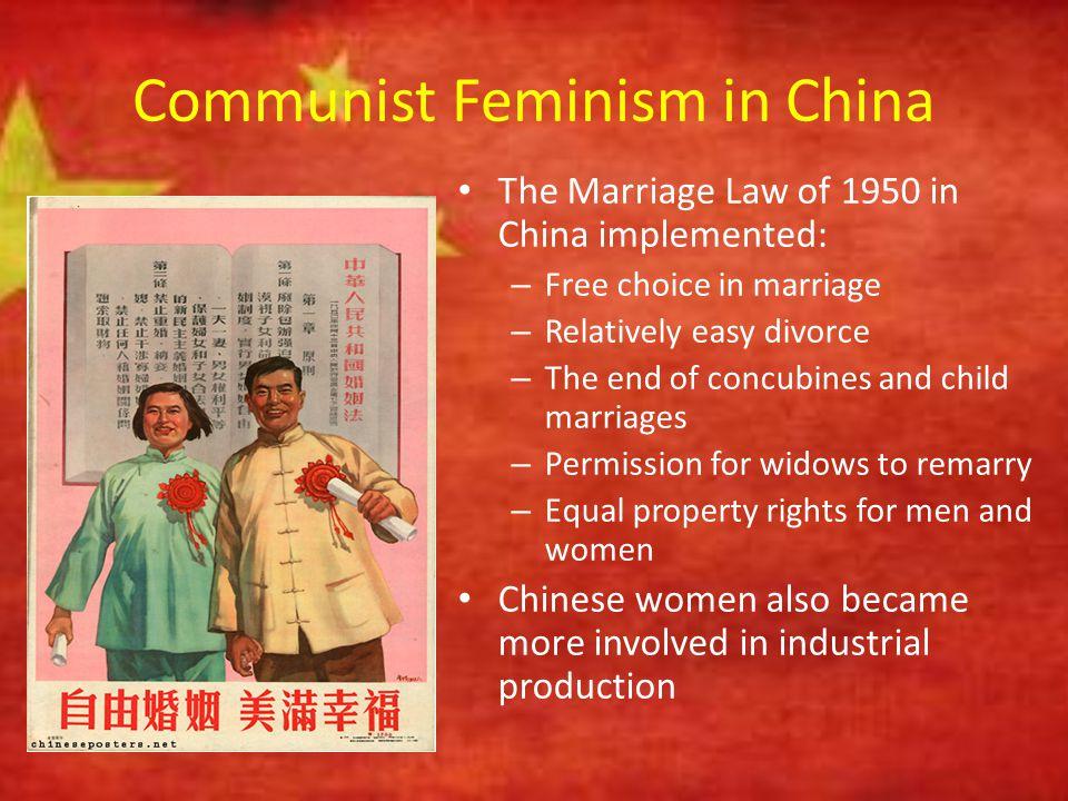 Communist Feminism in China
