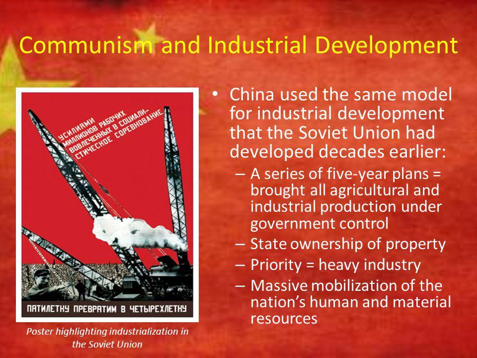 Communism and Industrial Development