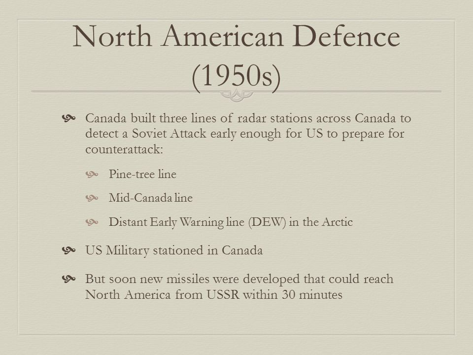 North American Defence (1950s)