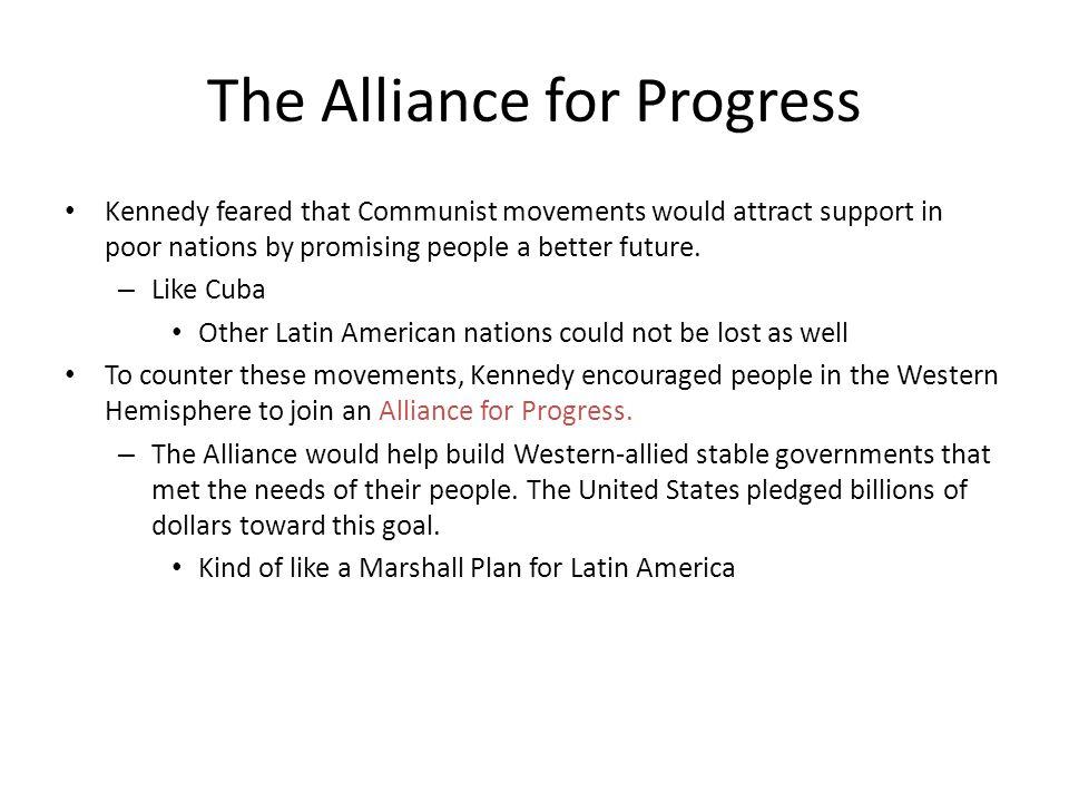 The Alliance for Progress