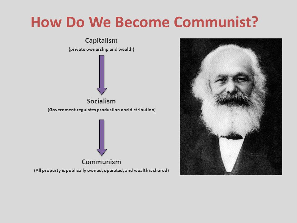 How Do We Become Communist