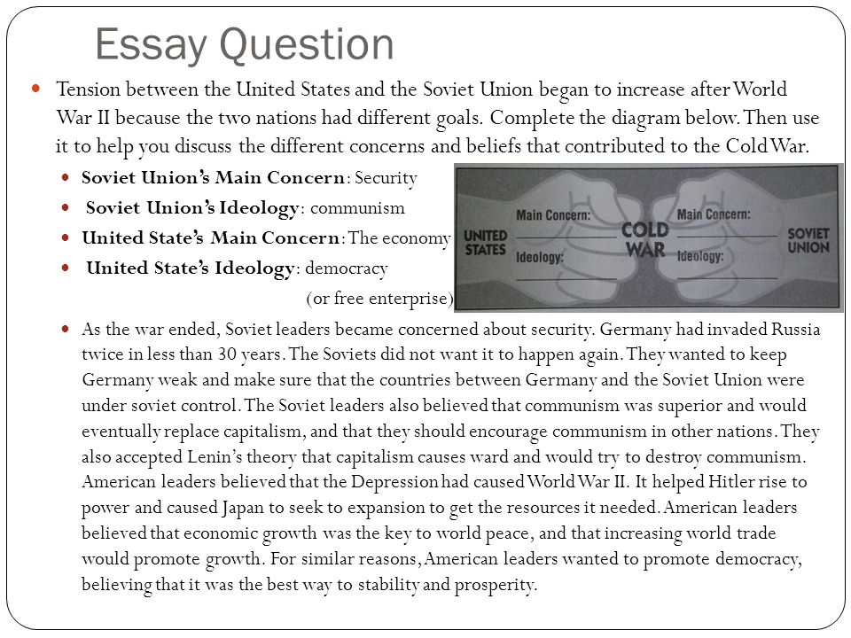How To Write Essay Proposal  English Essay Example also Environmental Science Essay Rise And Fall Of The Cold War Essay Essay About Business