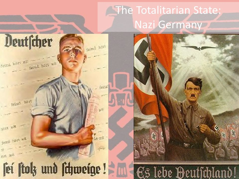 The Totalitarian State: Nazi Germany