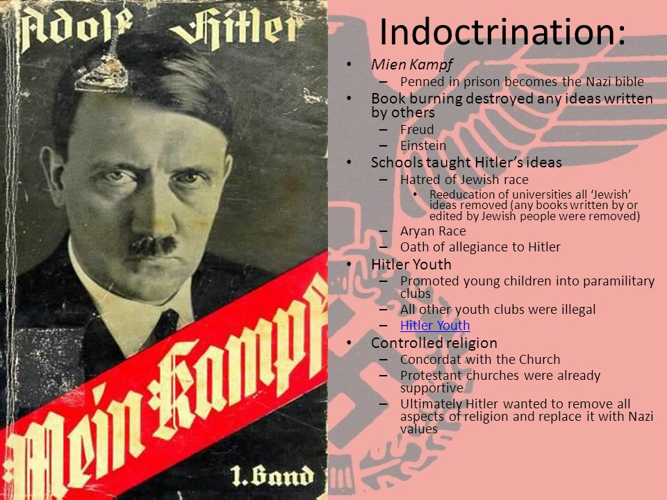 Indoctrination: Mien Kampf